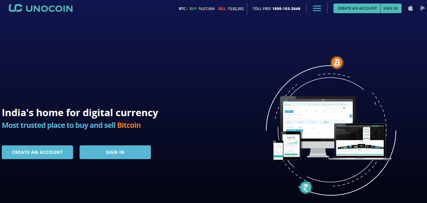 Unocoin Exchange: India's Leading Bitcoin Exchange - Unocoin Review
