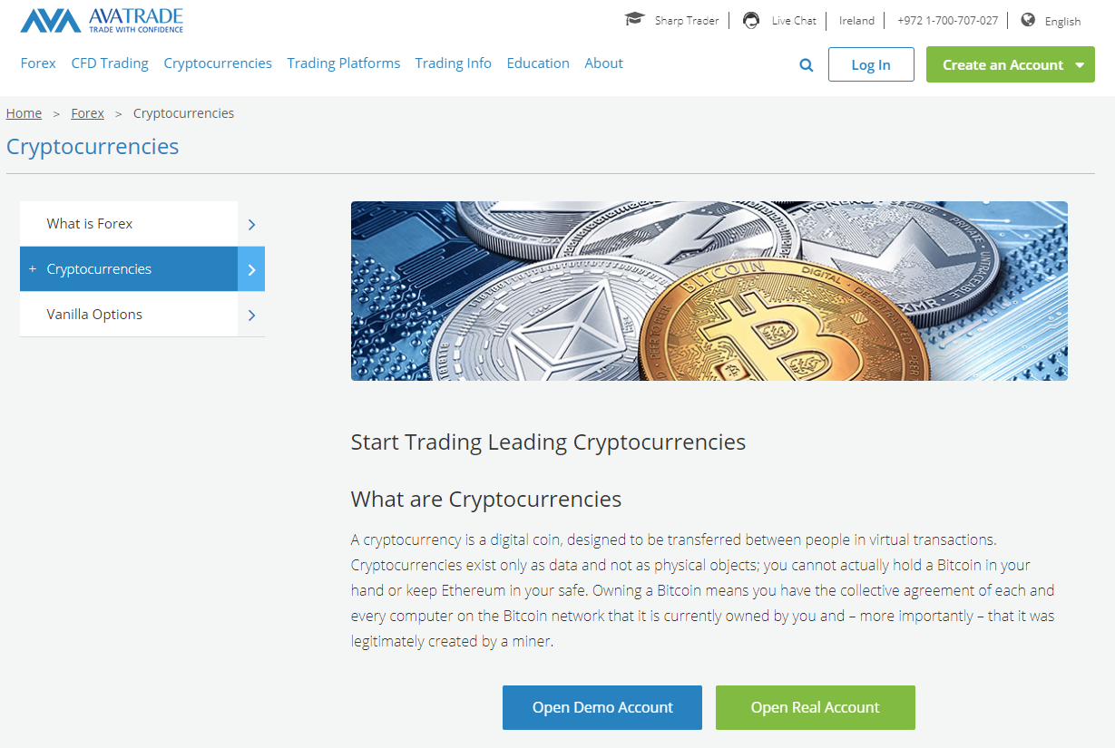 Australia Brokers: AvaTrade Review – Fast and Secure Crypto Trading Brokerage Platform