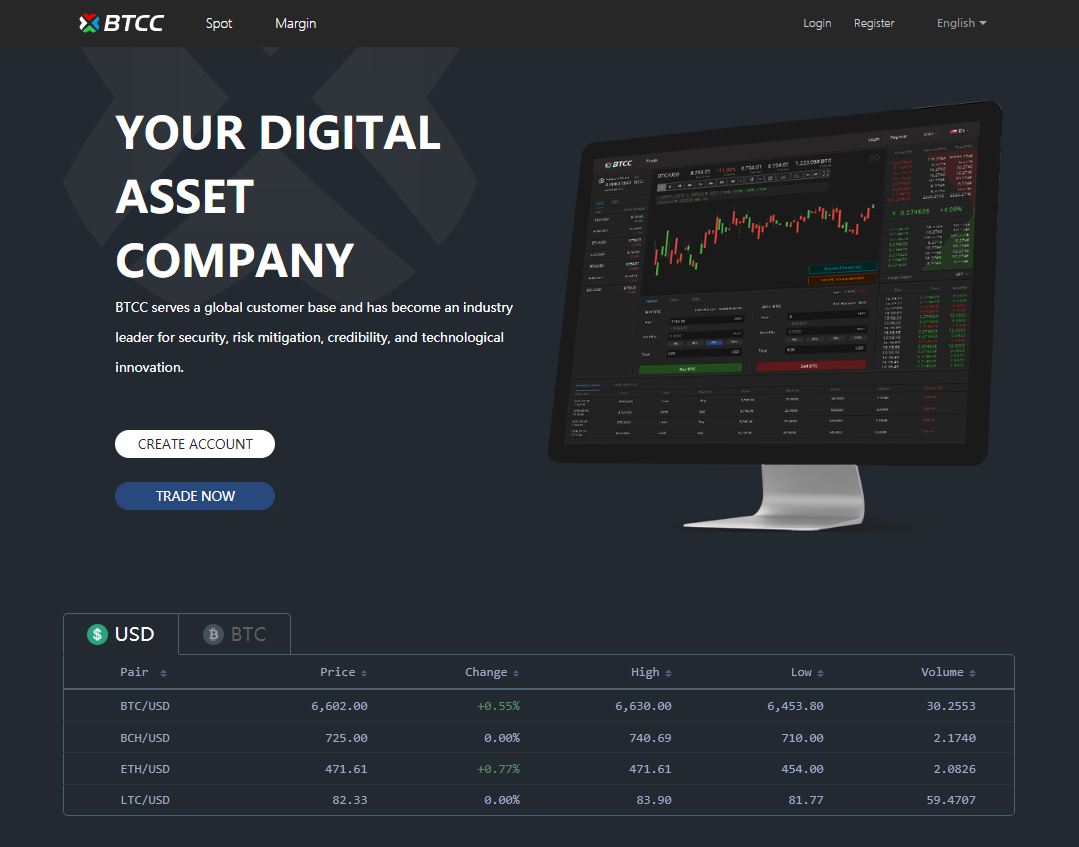 BTCC Review – World's Leading Cryptocurrency Exchange Platform