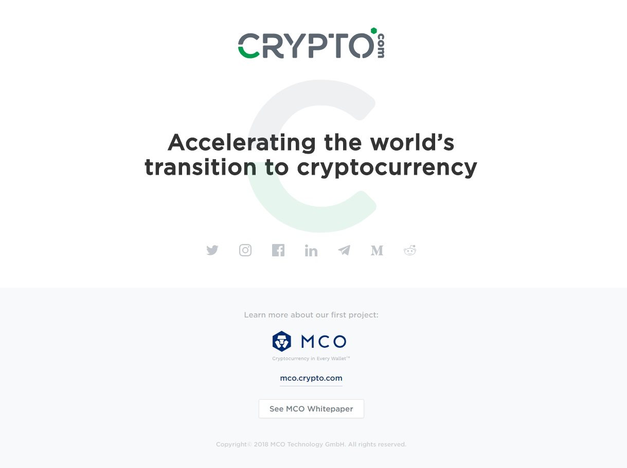 Crypto.com Domain Name Finally Sold