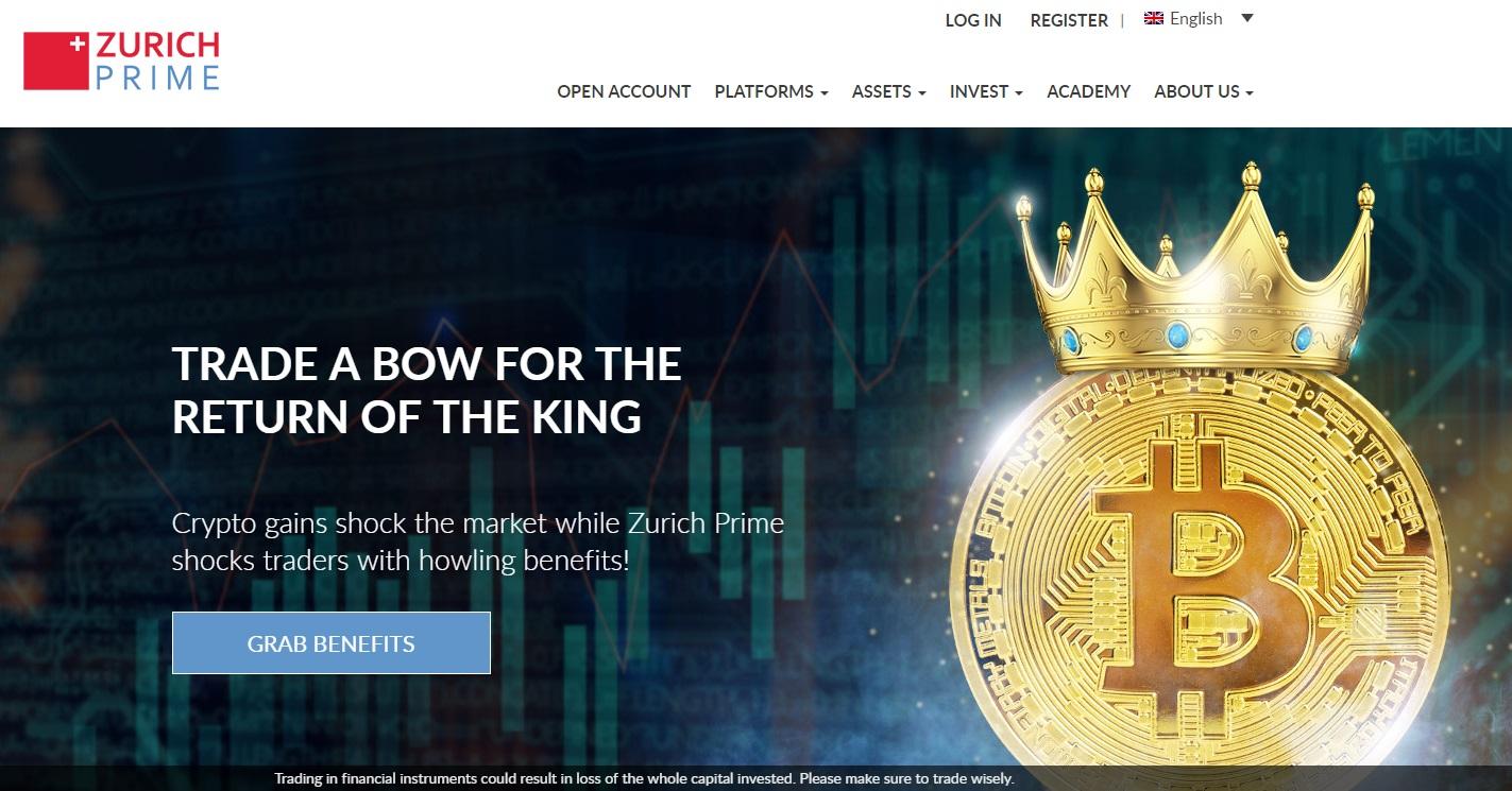 Zurich Prime Broker Rating