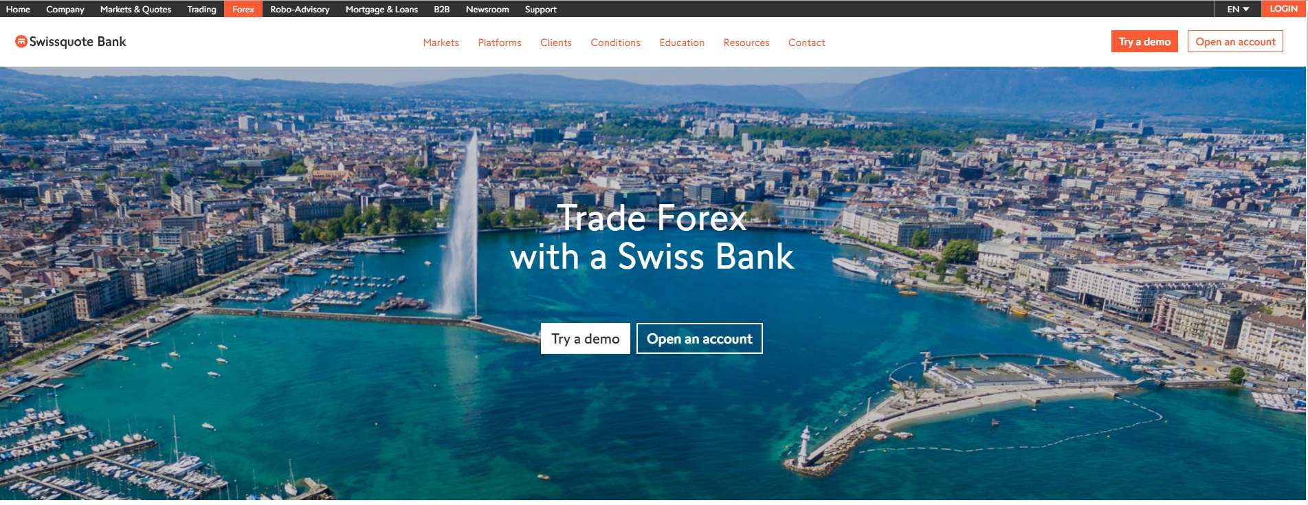 Swissquote Broker Rating