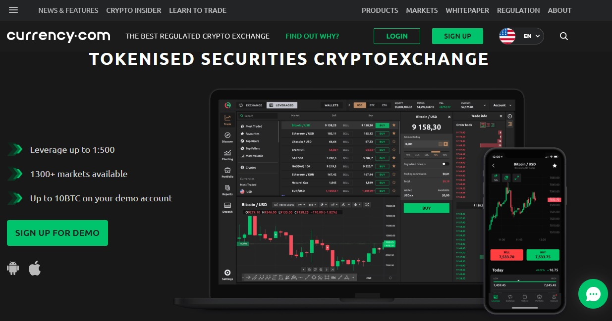Currency.com Exchange Review - Are Tokenized Securities a Worthy Asset?