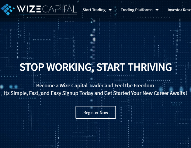 WizeCapital.com Review - Is WizeCapital a Recommended Broker?