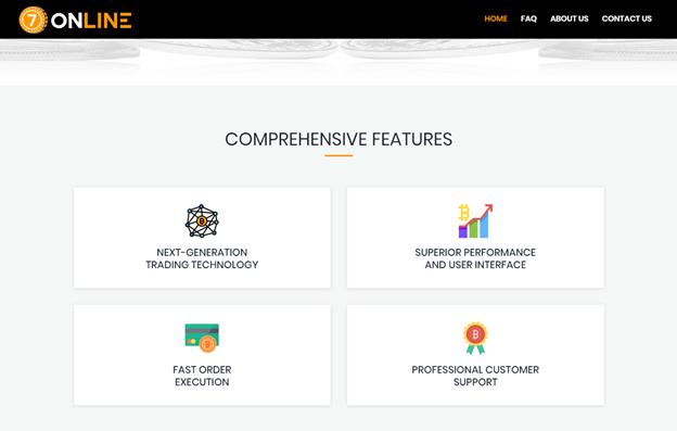 7Online features