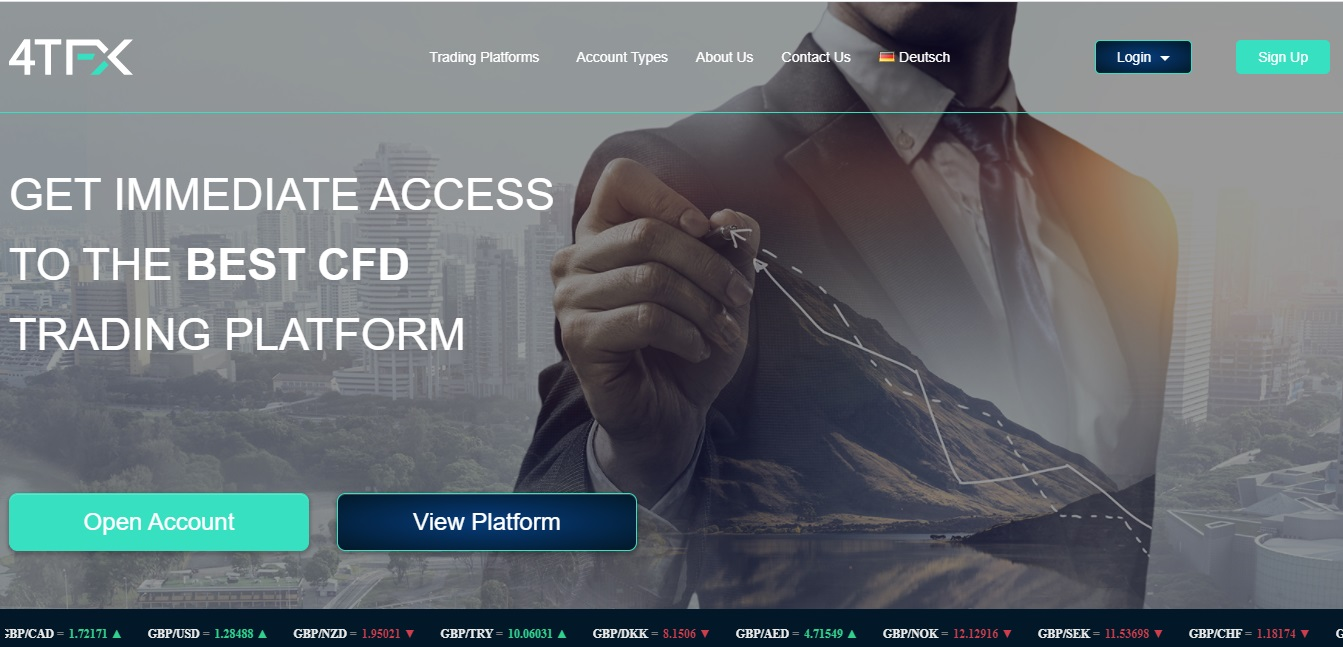 4TFX Review - Trade Numerous CFDs on One Platform