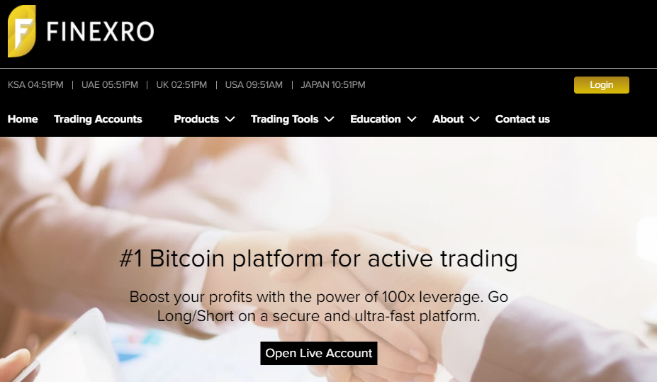 Finexro screenshot