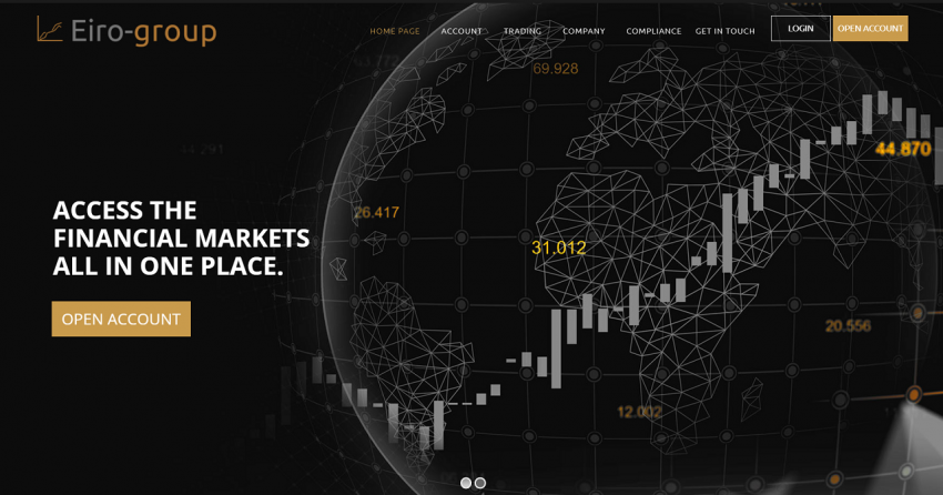 Eiro-group – A Global CFD Trading Platform for Retired and Secondary Income Seekers