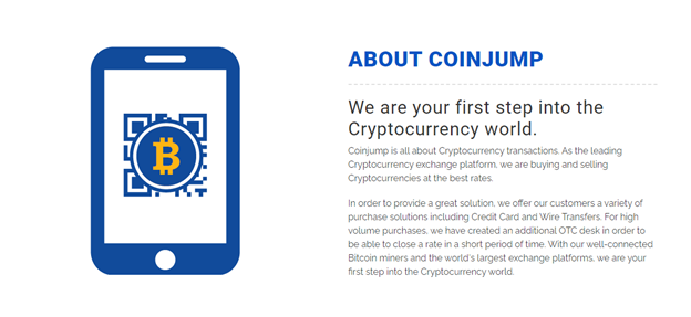 CoinJump features