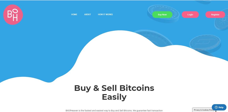 BitOfHeaven, czyli nowa platforma do kupowania Bitcoinów po najlepszym kursie