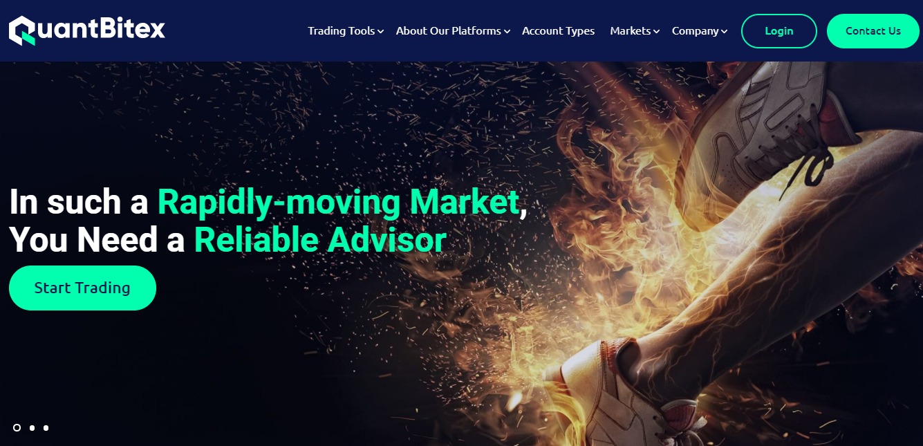 QuantBitex website
