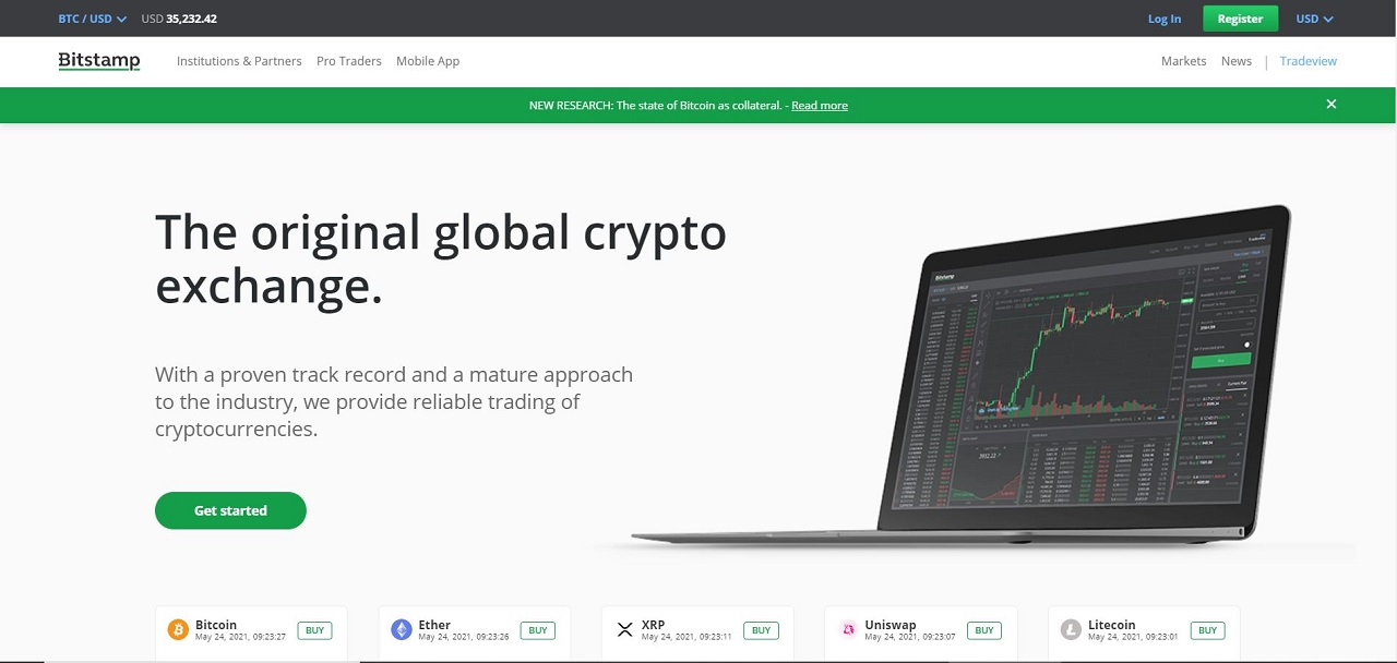 Bitstamp Review: A Recommended Cryptocurrency Exchange Platform