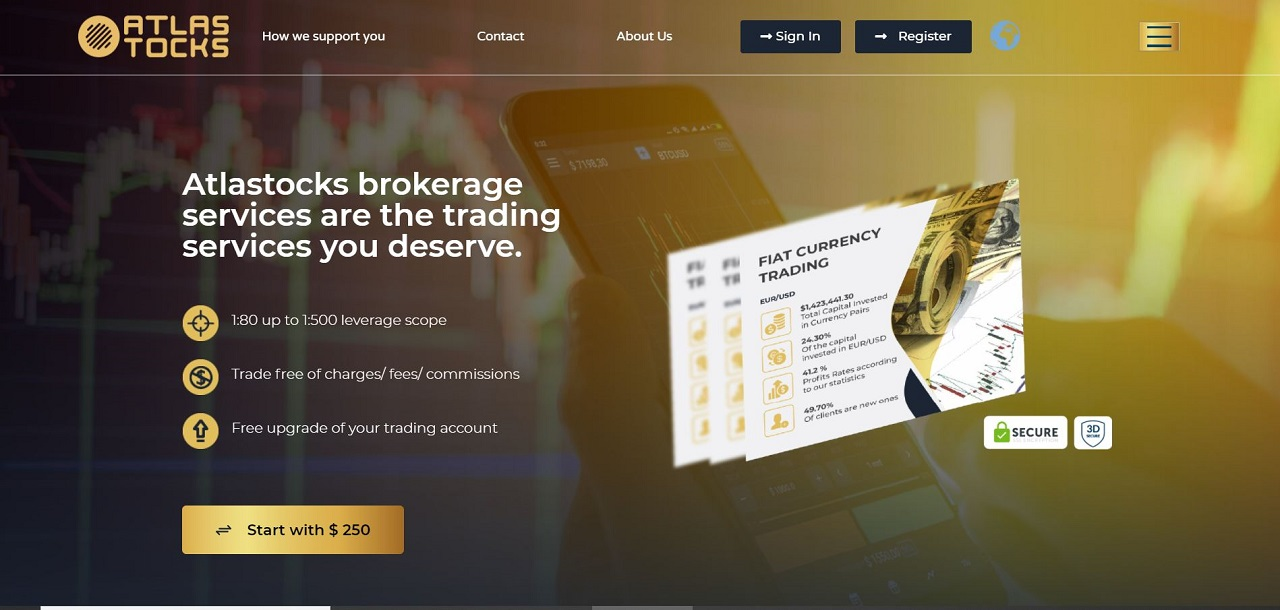 Atlastocks Review - A Reliable Broker For Online Trading