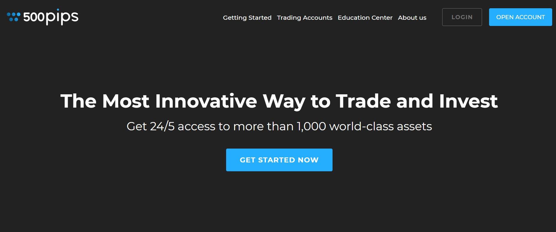 500pips website