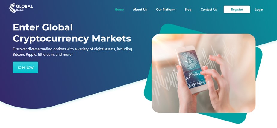 trade cryptocurrencies with GlobalBase
